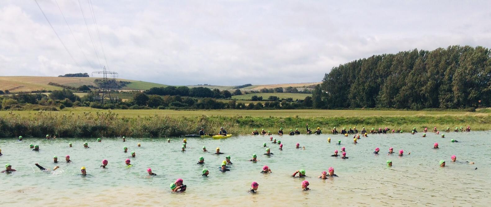 River Adur Swim Start 2019